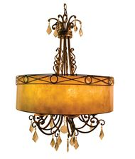 Vanilla Ice Lighting 86PD6BZ Bliss 28 Inch Large Pendant